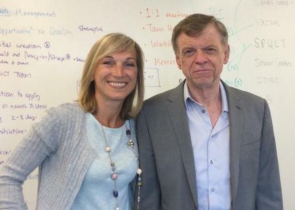 WITH Dr John Kotter, Aug 2014