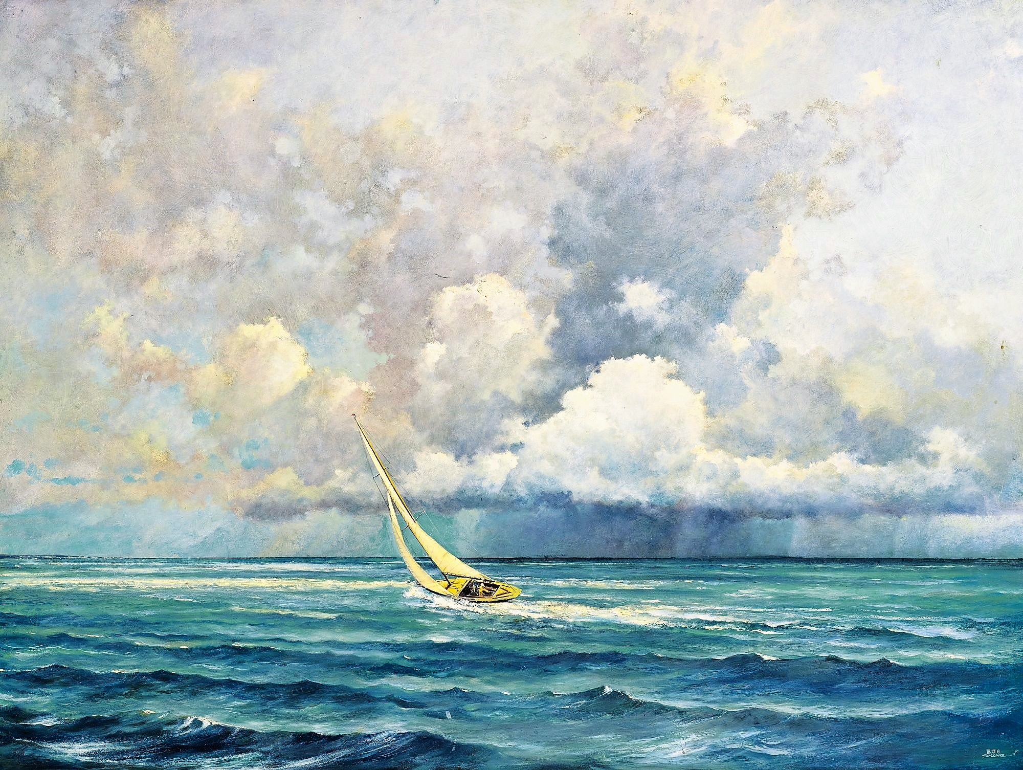 Ahead of the squall - Eric Sloane