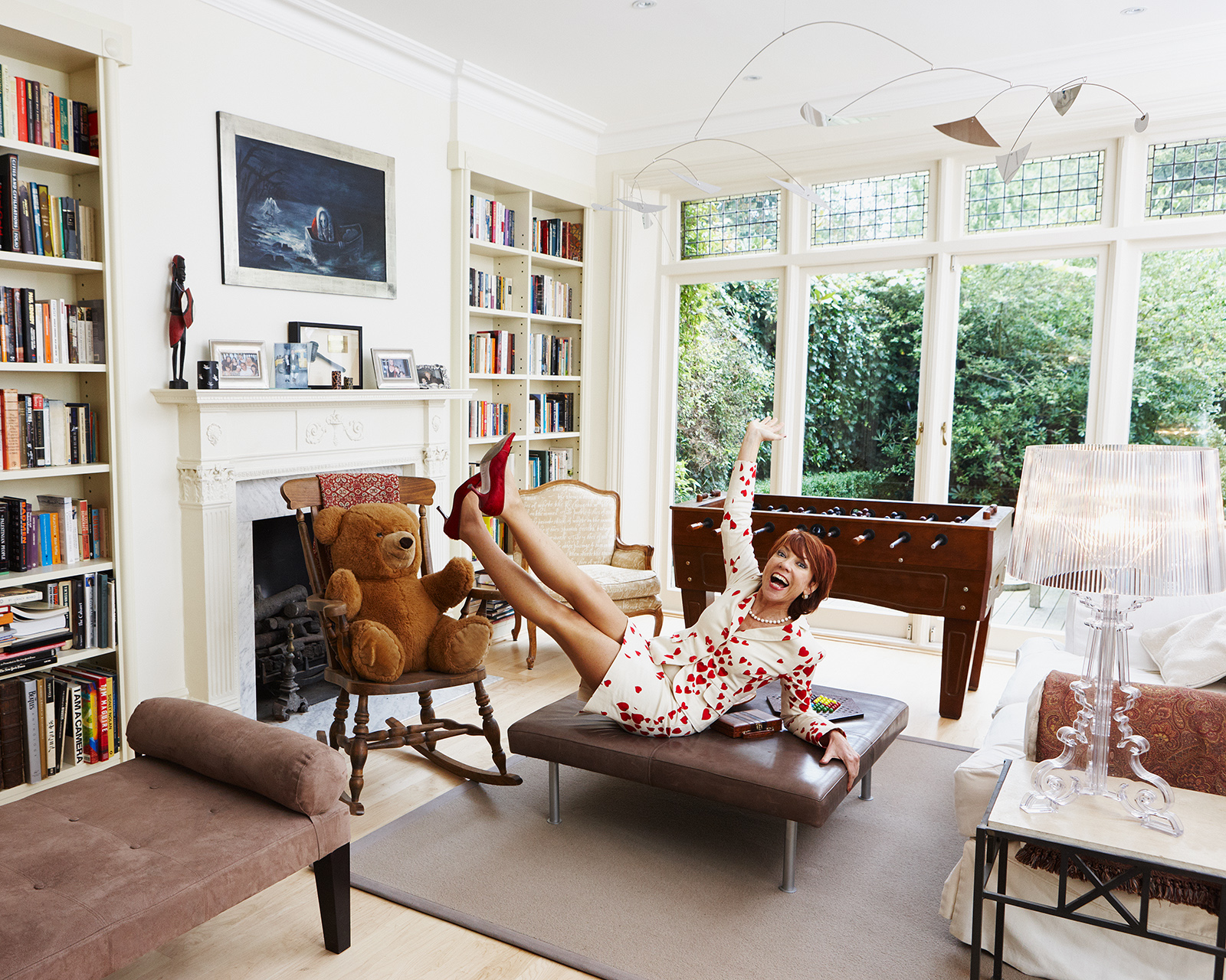 At home with Kathy Lette