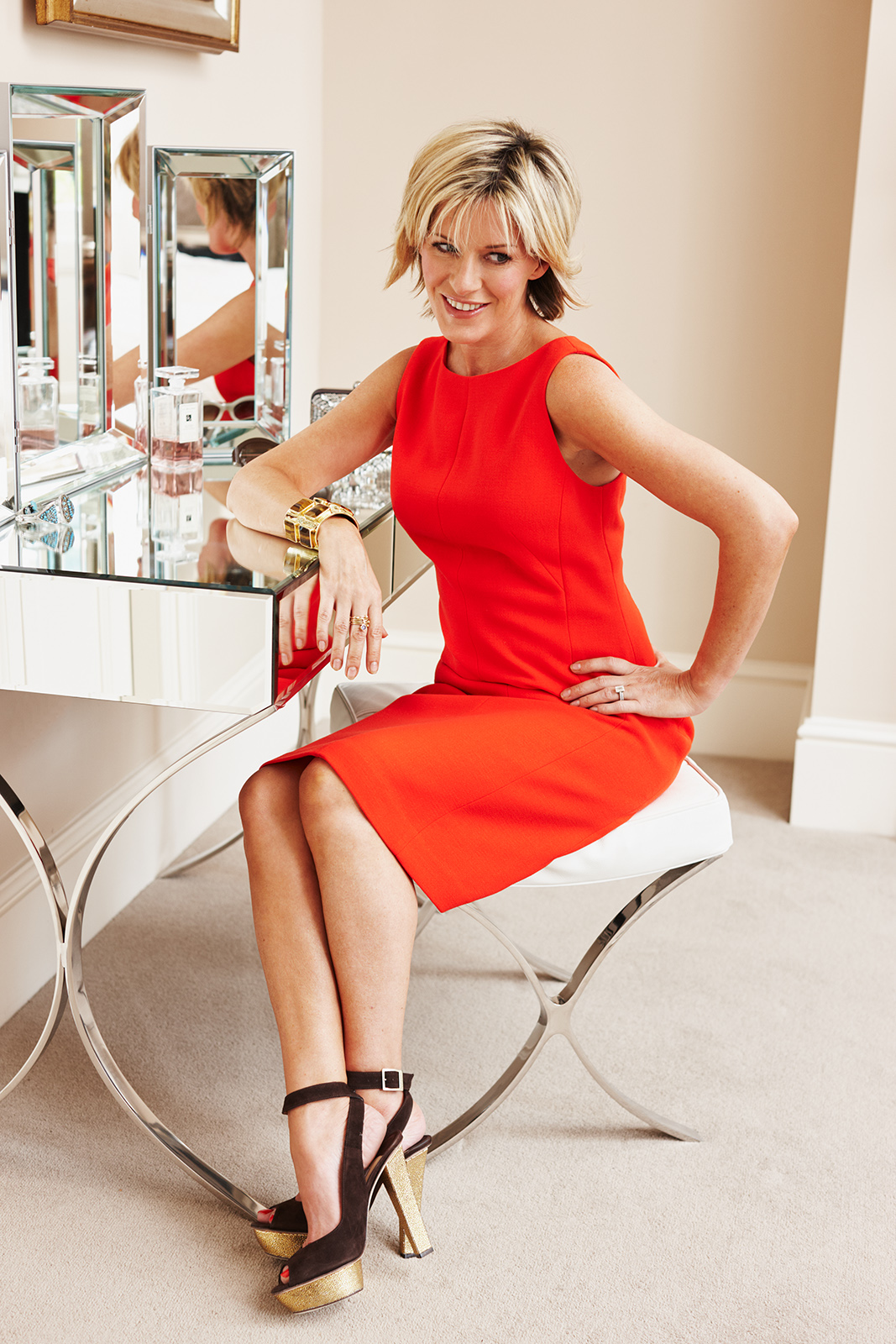 At home with Andrea Catherwood