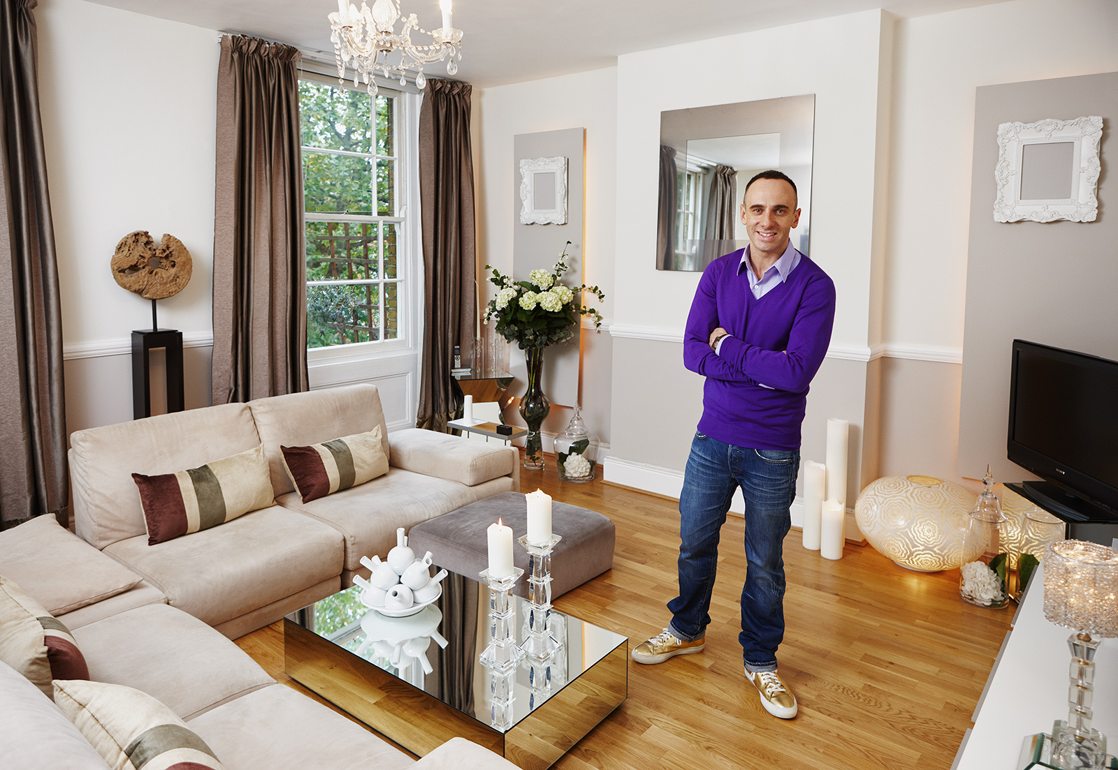 At home with Mark Heyes