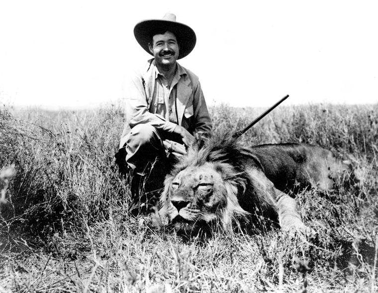 Ernest Hemingway, 1934