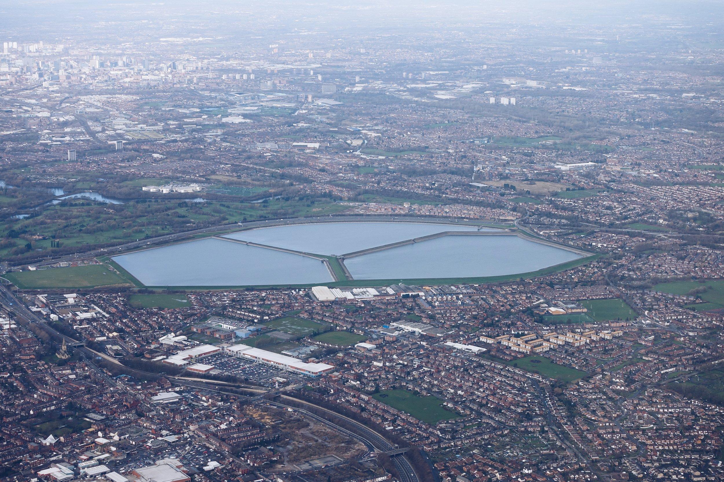 Reservoir near Manchester, UK
