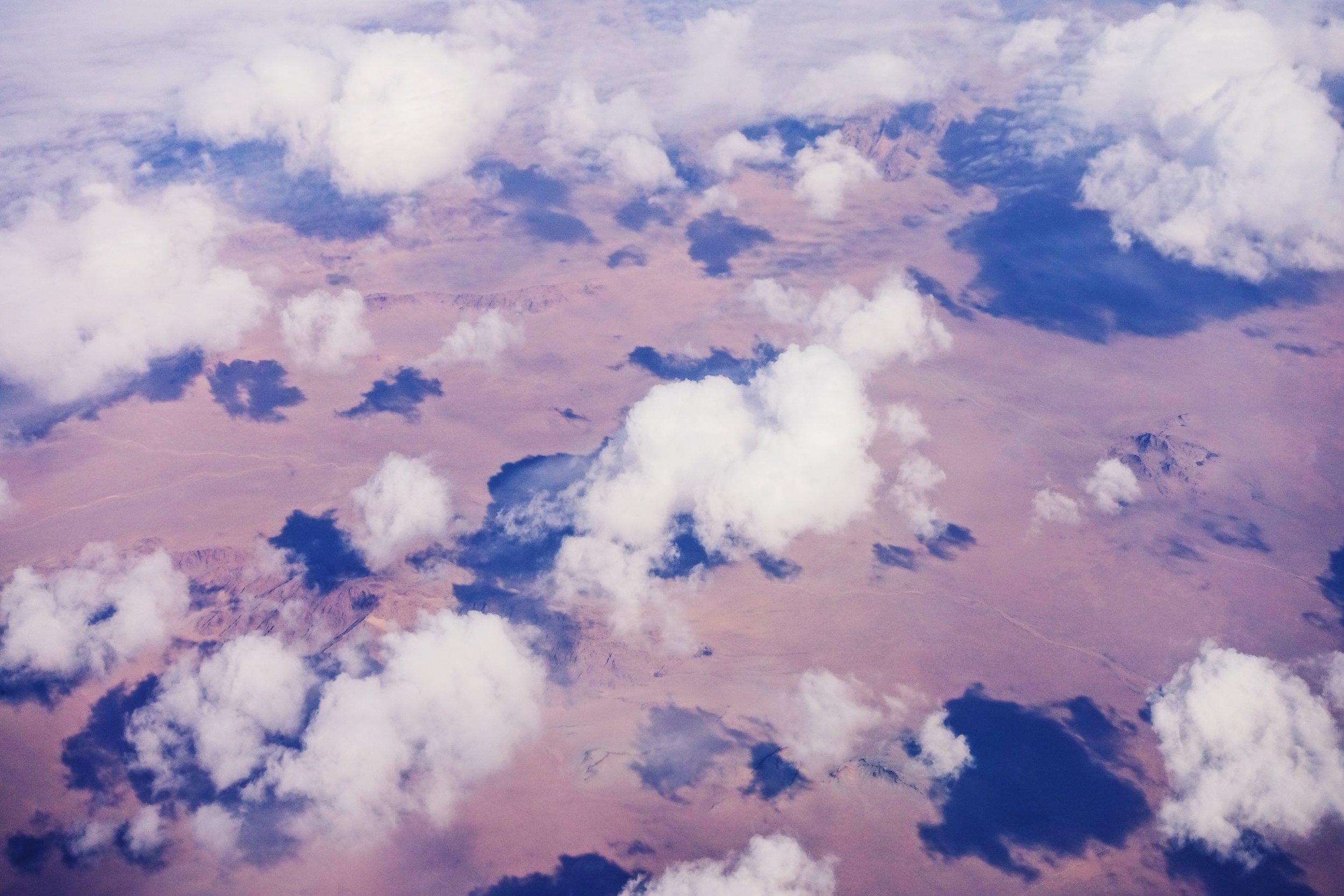 Desert area in Mongolia