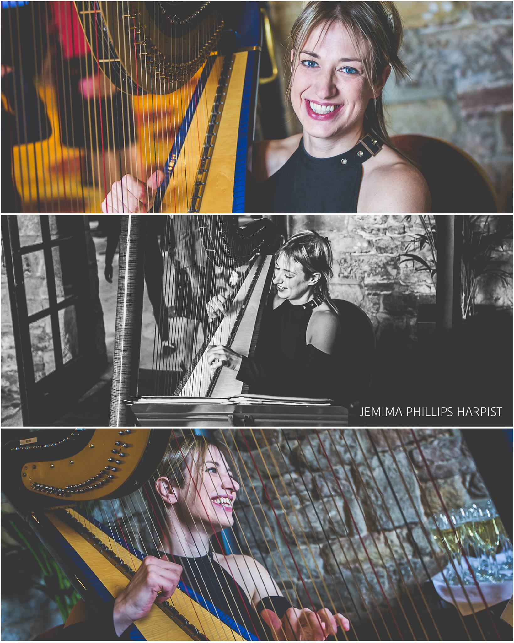 "Courtesy of   Johnny Hathaway Photography    ""Wow what an amazing harpist!!! I was blown away when I saw Jemima play!! Looping on a harp!!! Well done Jemima, can't wait to see you in action again!! Highly recommended for any wedding or event!!""  Johnny Hathaway Photographer (October 2017)"