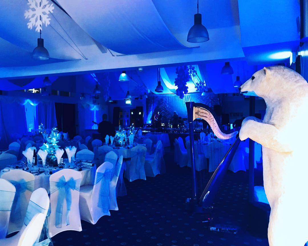 Winter Wonderland Themed Christmas Ball down at Navy HQ - December 2017