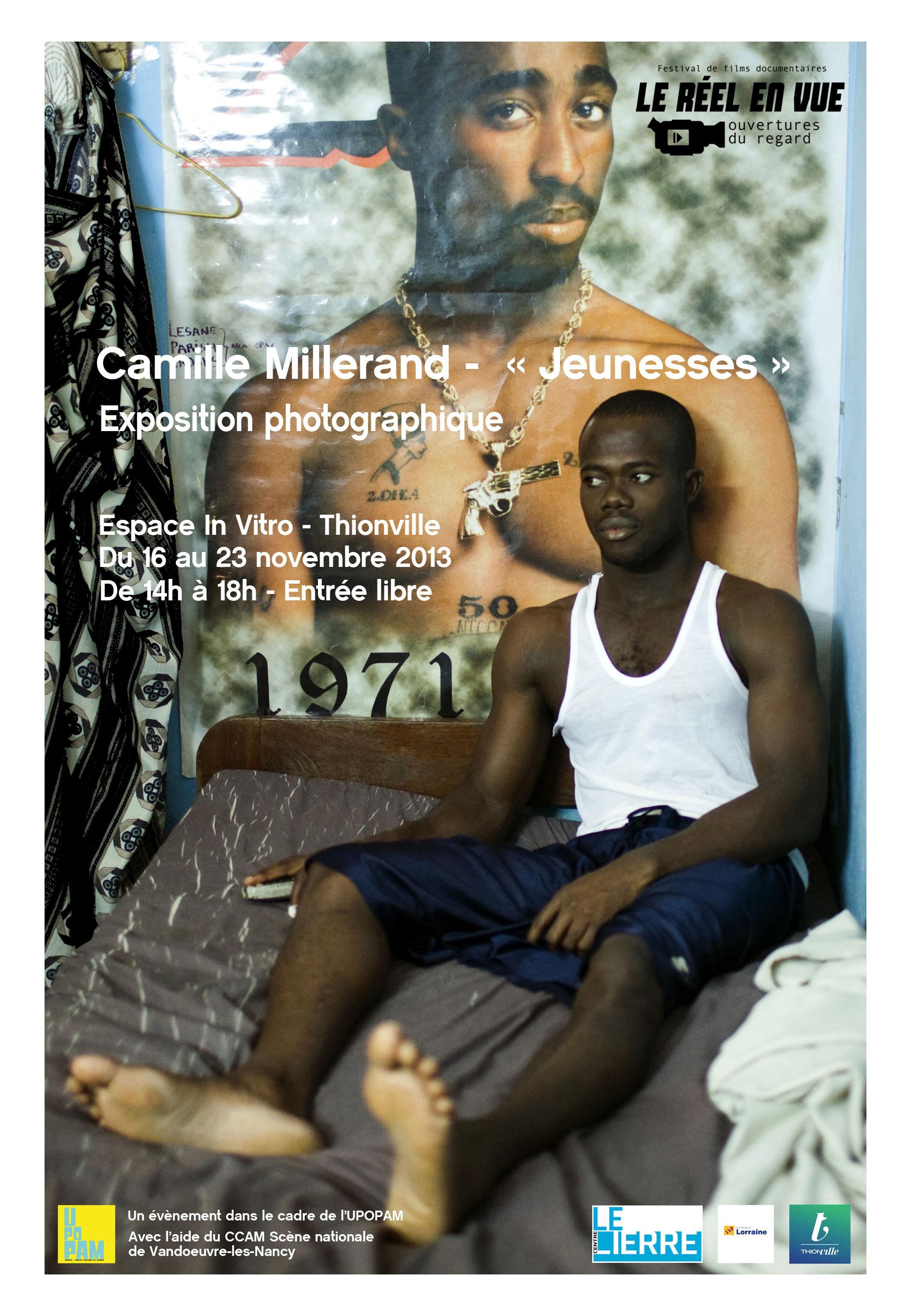Exposition de mon travail sur la jeunesse réalisé en Algérie, Côte d'Ivoire, en France ( Vosges) et en Roumanie dans le cadre du festival Le Réel en Vue à Thionville.