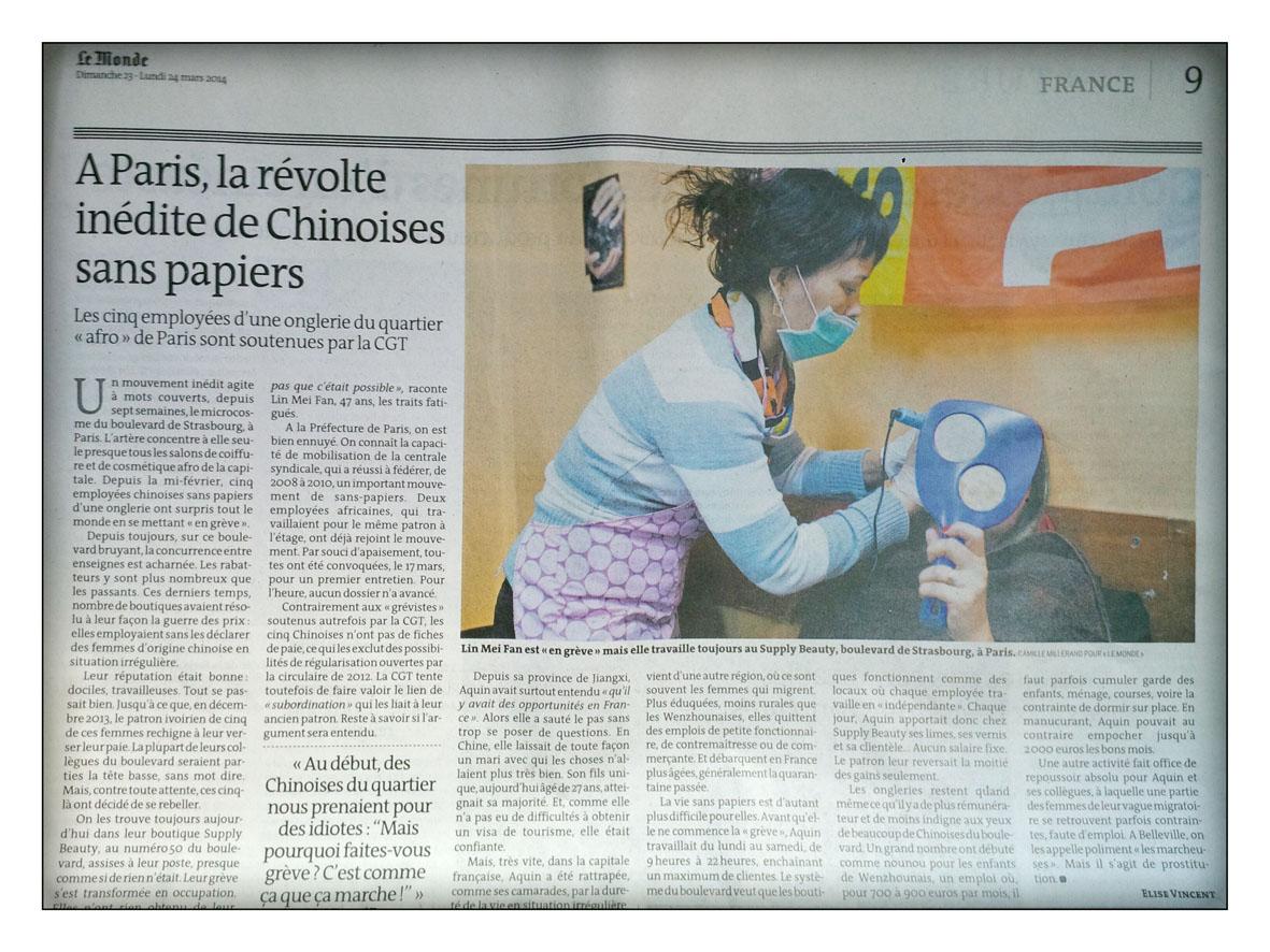http://www.lemonde.fr/societe/portfolio/2014/03/22/greve-inedite-de-chinoises-a-paris-pour-leur-paie-et-leurs-papiers_4387565_3224.html