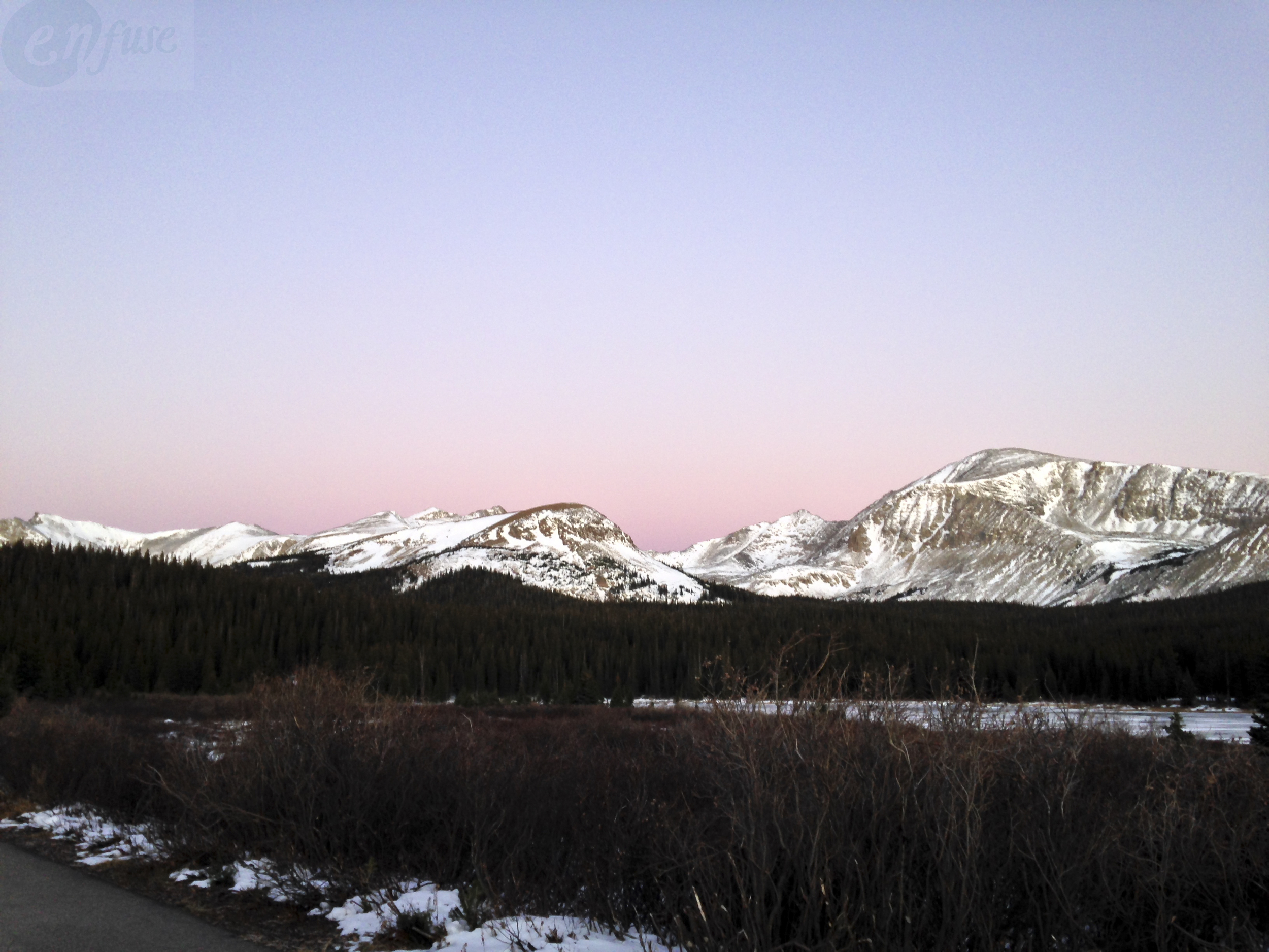 Photo taken from one of my favorite places in Colorado. The colors of the skies and landscape always make me pause for a moment of gratitude and awe.