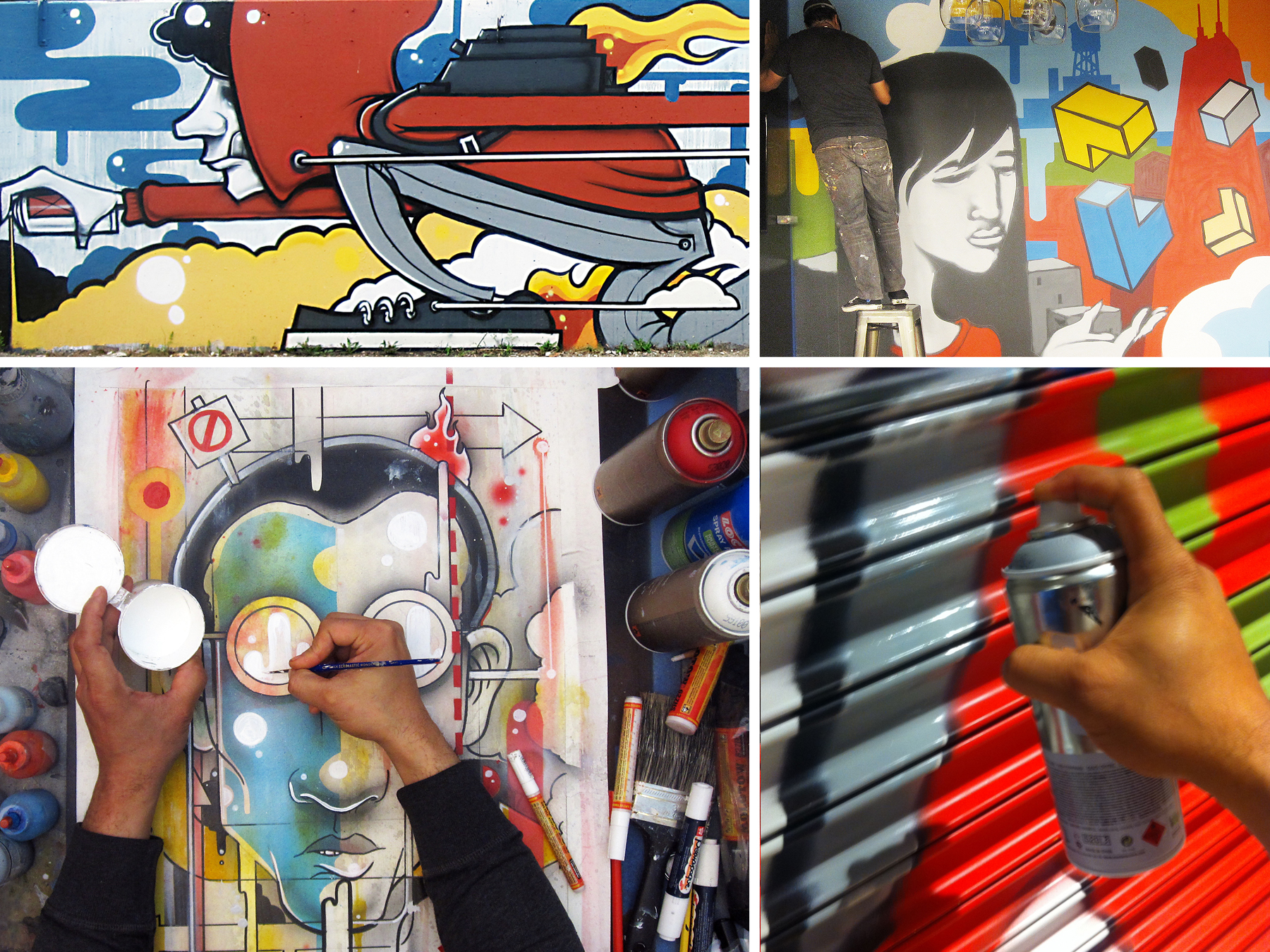 Join  Ada St.  and  Threadless  for another exciting mural re-painting party!   Where: Ada St.'s patio  When: Monday, June 27th from 5pm-8pm  Who: Local artist  Anthony   Lewellen   Why: To celebrate art and local artists!    Tickets are just $25  (lots of delicious food and beer provided by our friends at Motor City Brewing Works [included, til it runs out!], see the menu  here !)  **Additional cash bar, with a Throwback Cocktail also available, of which 100% of the proceeds will be donated to  Hope For The Day  (HFTD), an arts nonprofit that focuses on suicide prevention and mental health education through self-expression platforms to achieve outreach, education, and prevention.  Can't wait to see you there!  WHEN  Monday, June 27, 2016 from 5:00 PM to 8:00 PM (CDT) -  Add to Calendar   WHERE  Ada Street - 1664 North Ada Street, Chicago, IL 60642 -  View Map
