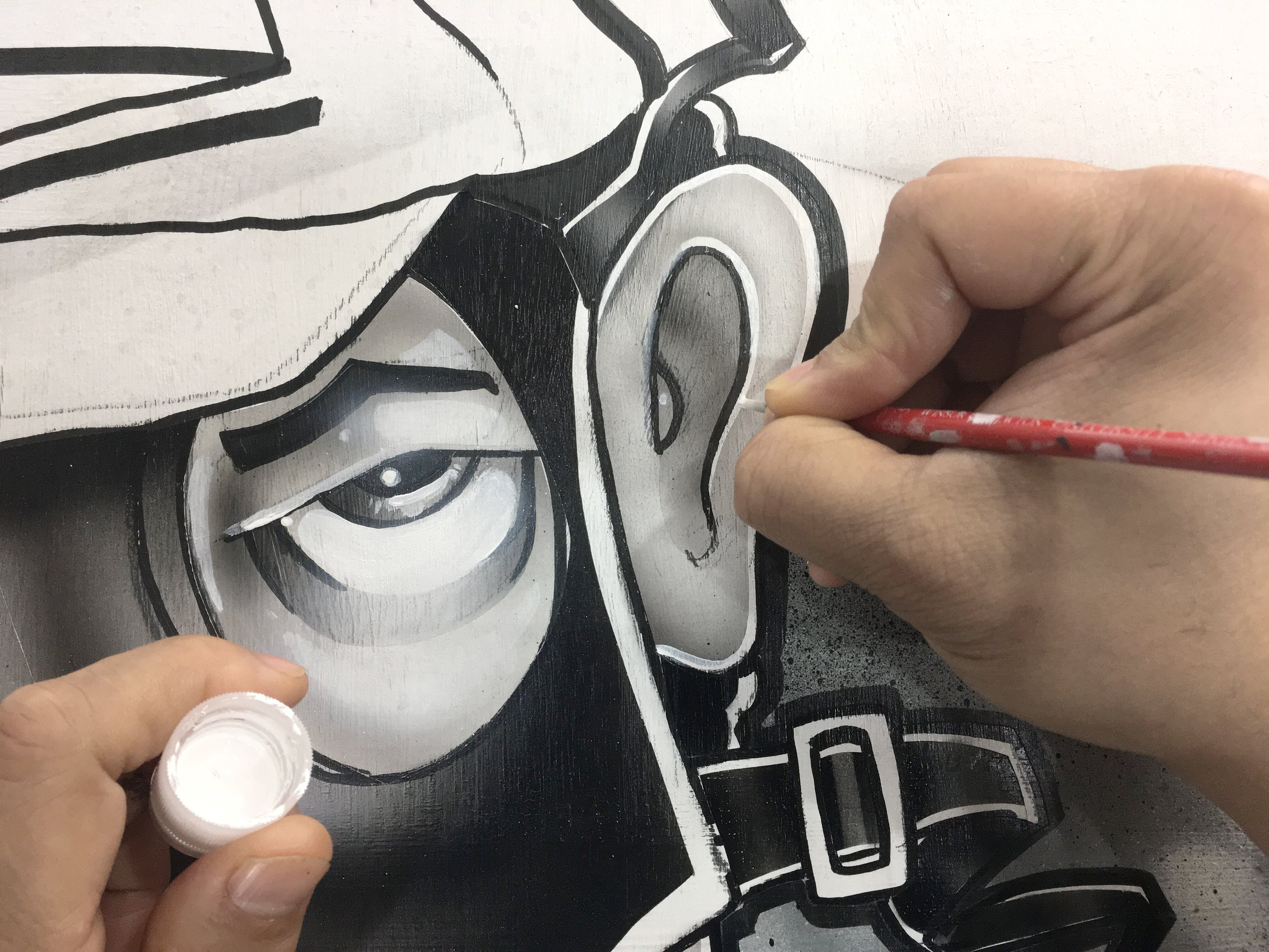 The broad strokes are easy and immediately gratifying but once they are in place the details are left, the details are quite a bit trickier.