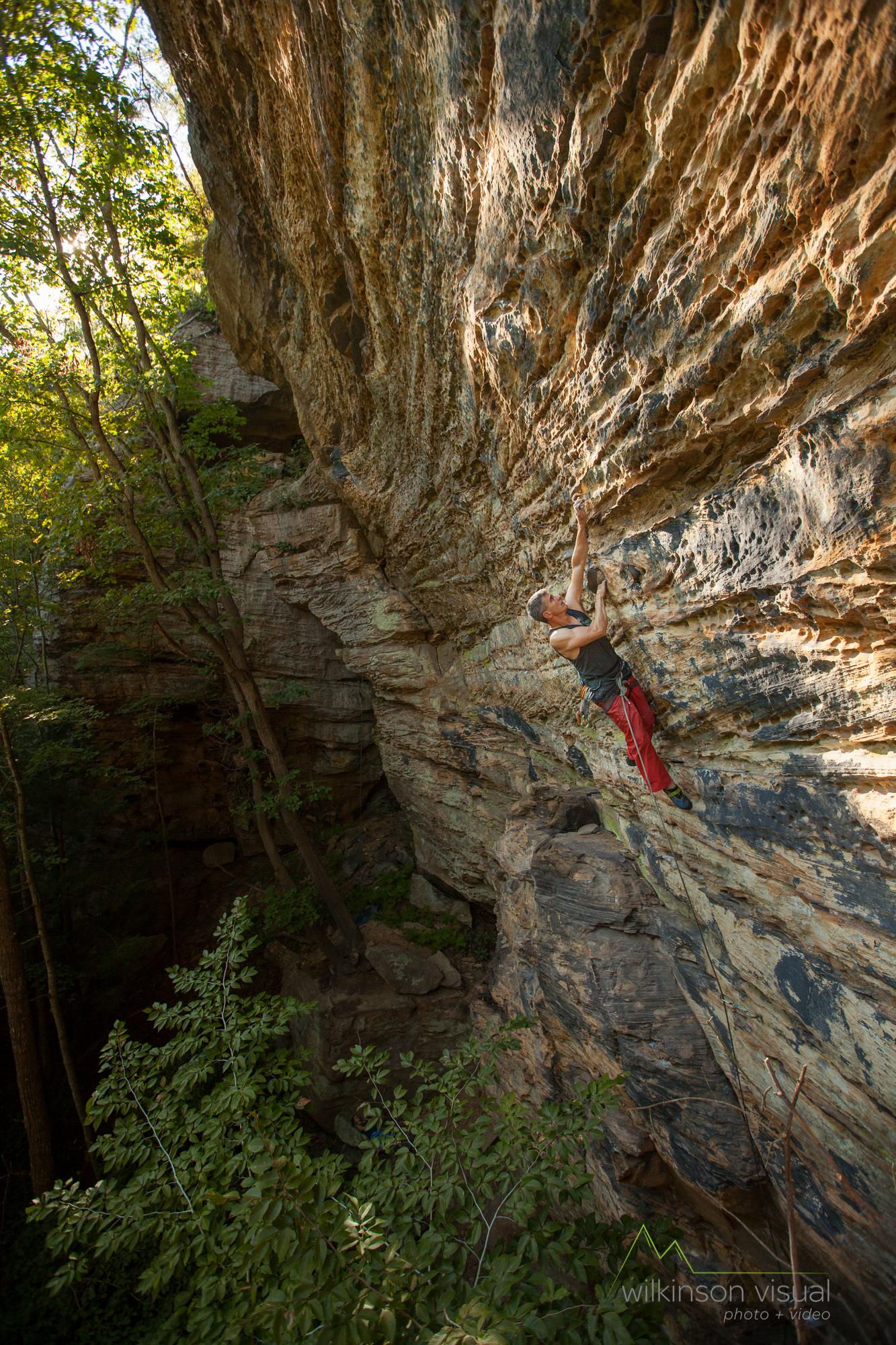 Getaway Crag, RRG