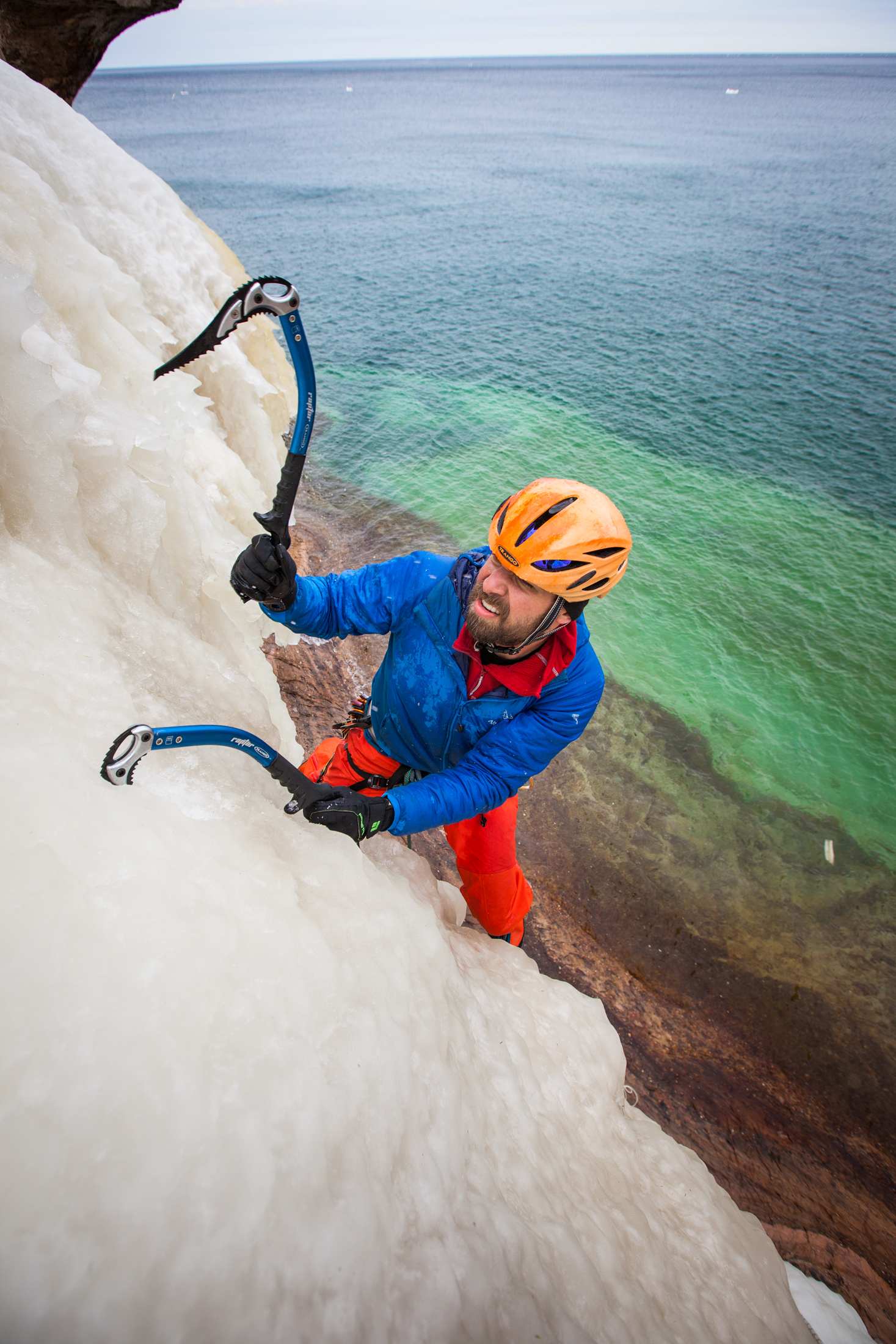 Michigan Ice Climbing Photography — Wilkinson Visual