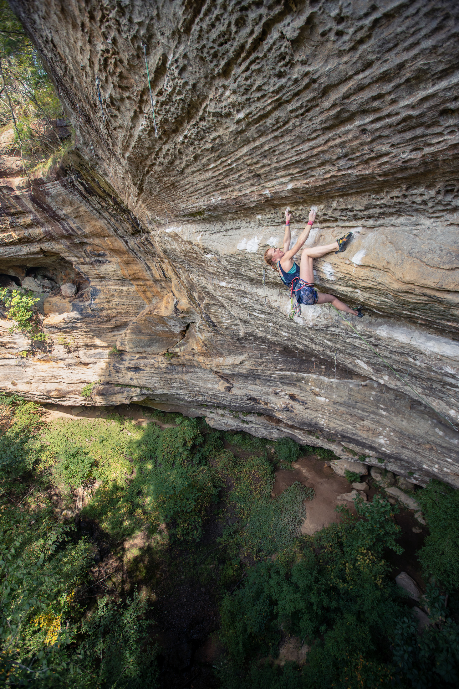 """The Madness""   Climber: Delaney Miller"