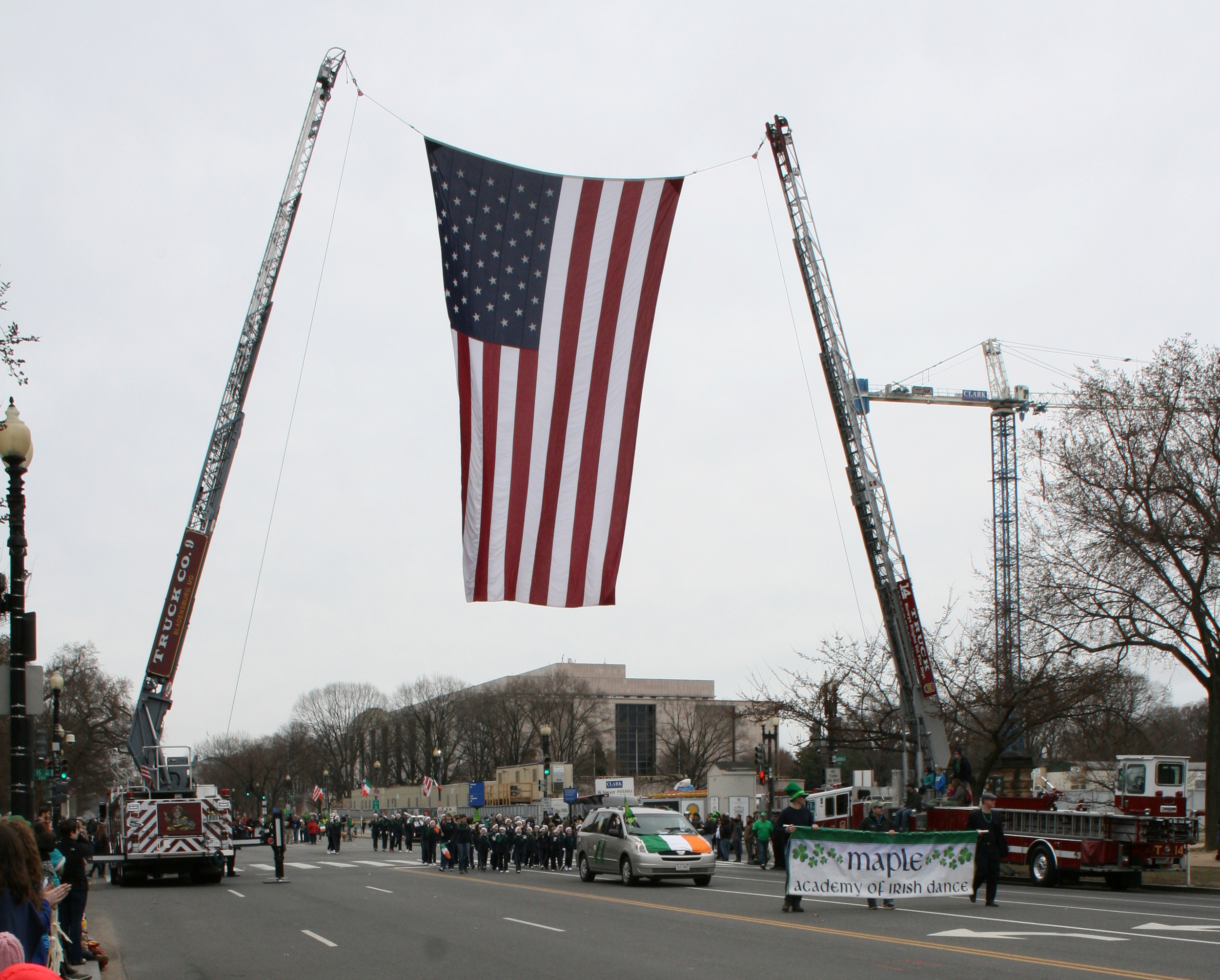 Washington DC St Patrick's Day parade 2014