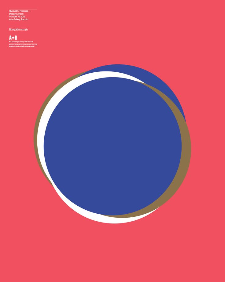 The ADCC Presents - Design London