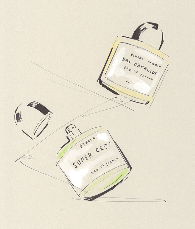 Yoco Nagamiya - favourite things - BYREDO PARFUME
