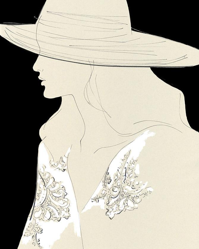 Yoco Nagamiya - Lace Kaftan