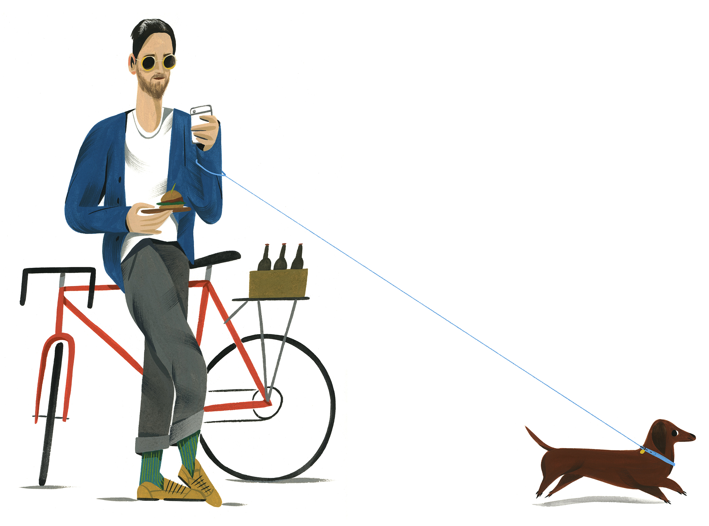 Ping Zhu • Esquire magazine • Hipsters