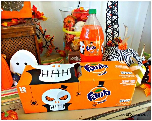 Fanta Halloween Packaging by Noma Bar