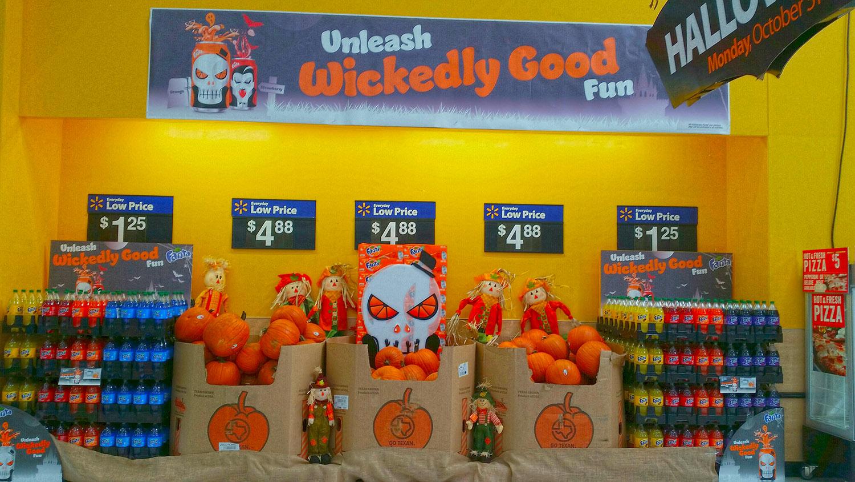 Fanta Halloween POS by Noma Bar
