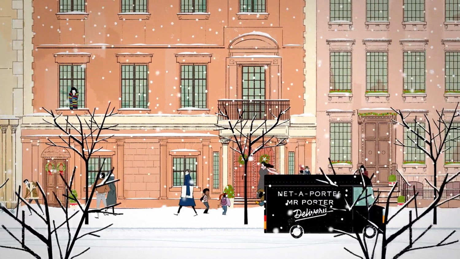 Mr Porter - Illustration & Design by Simone Massoni