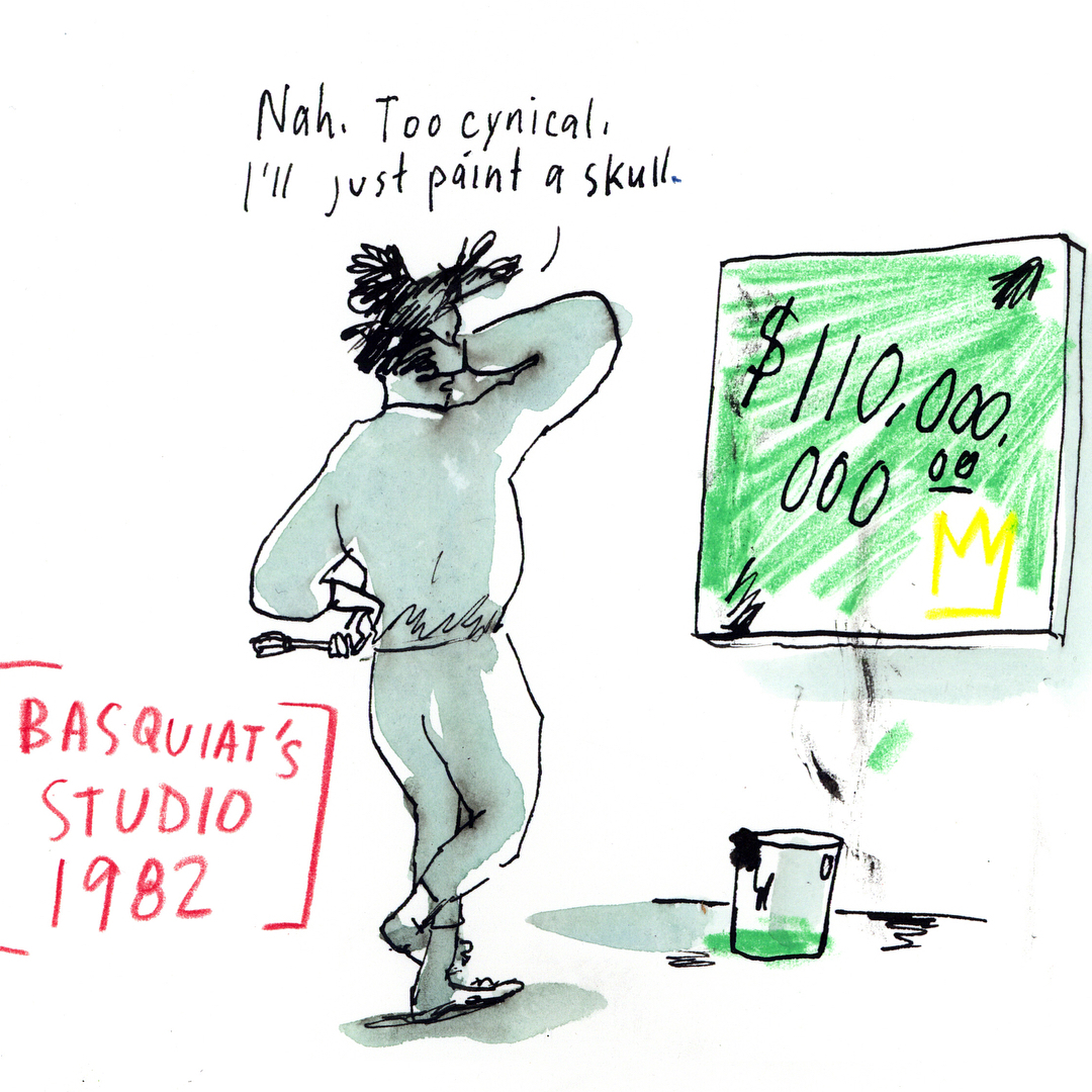 Basquait - Graham Roumieu