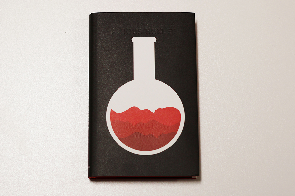 Aldous Huxley - Brave New World illustrated by Noma Bar