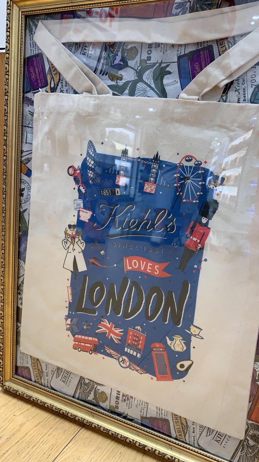 KIEHLS LOVES LONDON - Tote Bag