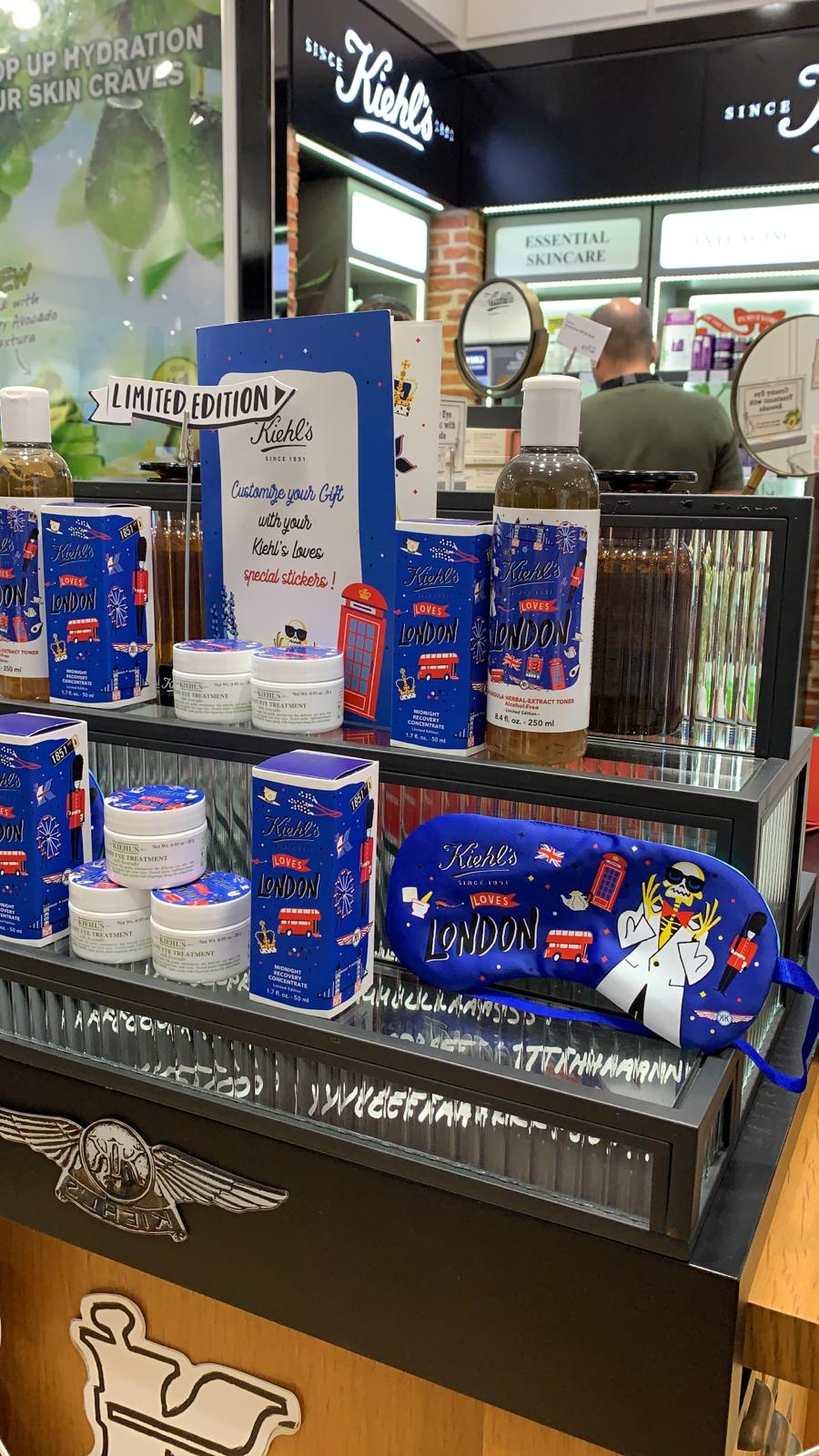 KIEHLS LOVES LONDON - Stansted Airport