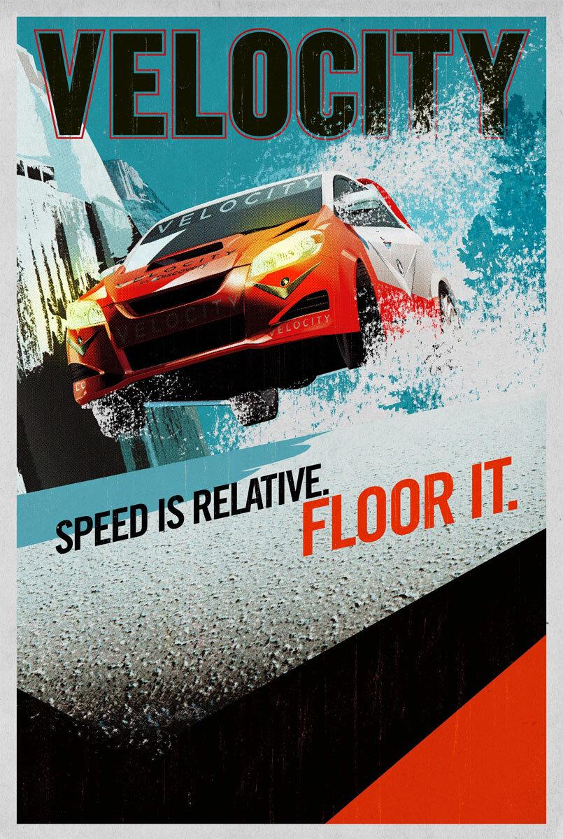 Tavis Coburn - Rally Poster
