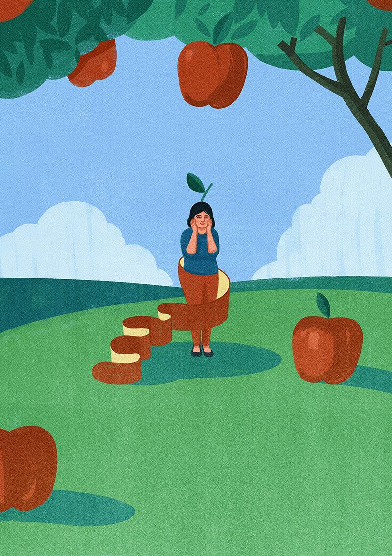 Die Ziet - Doctor - Apple Peel