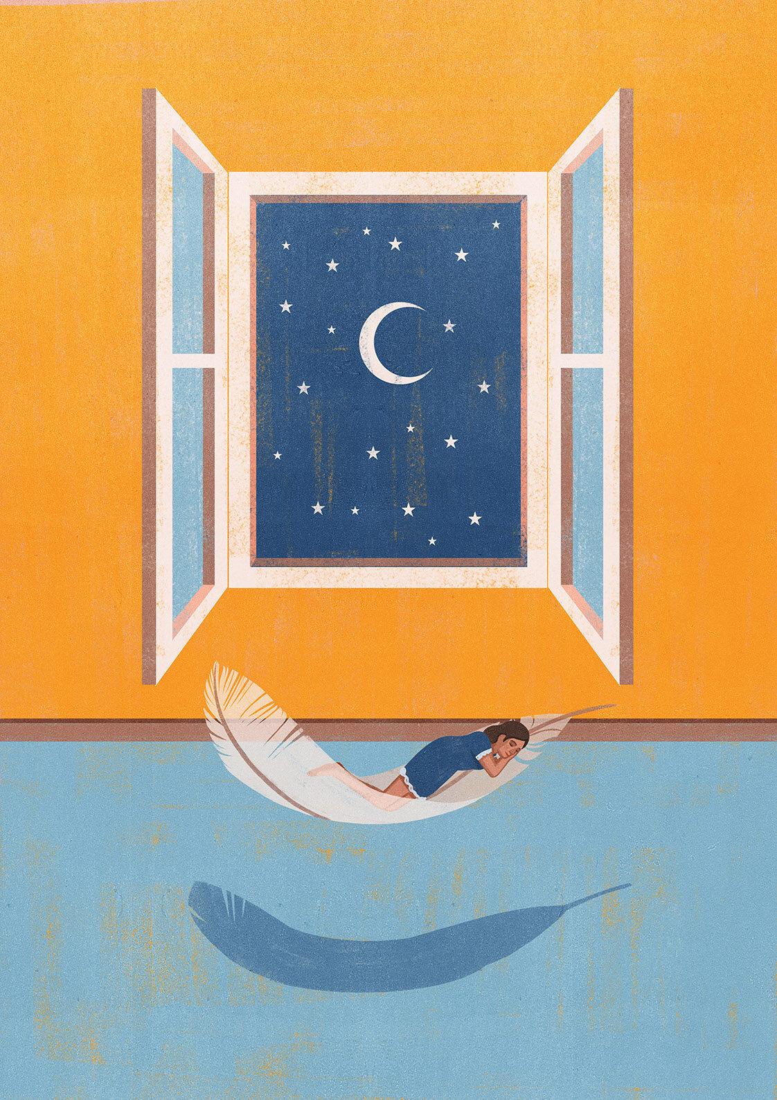 Die Ziet - Sleep- Light as a feather