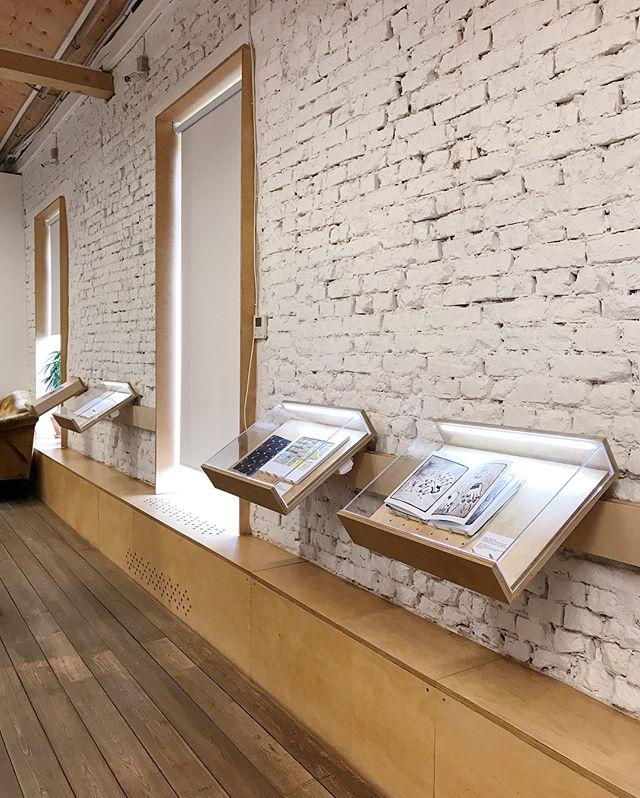 New showcases for @garagemca  Education Center 📚 #masterskayabe #exhibitiondesign