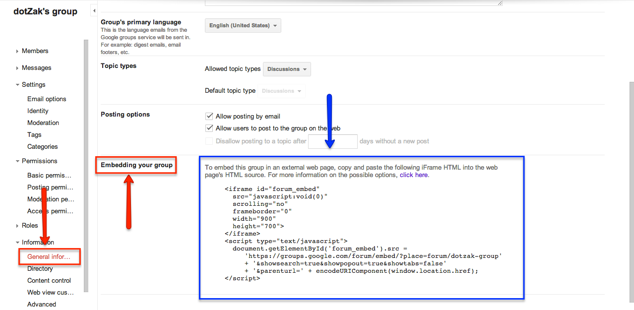 How to Embed Google Groups Forums — Squarespace Forums Guides