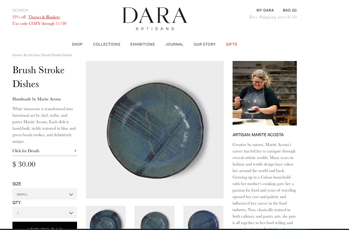 Dara Artisans story here