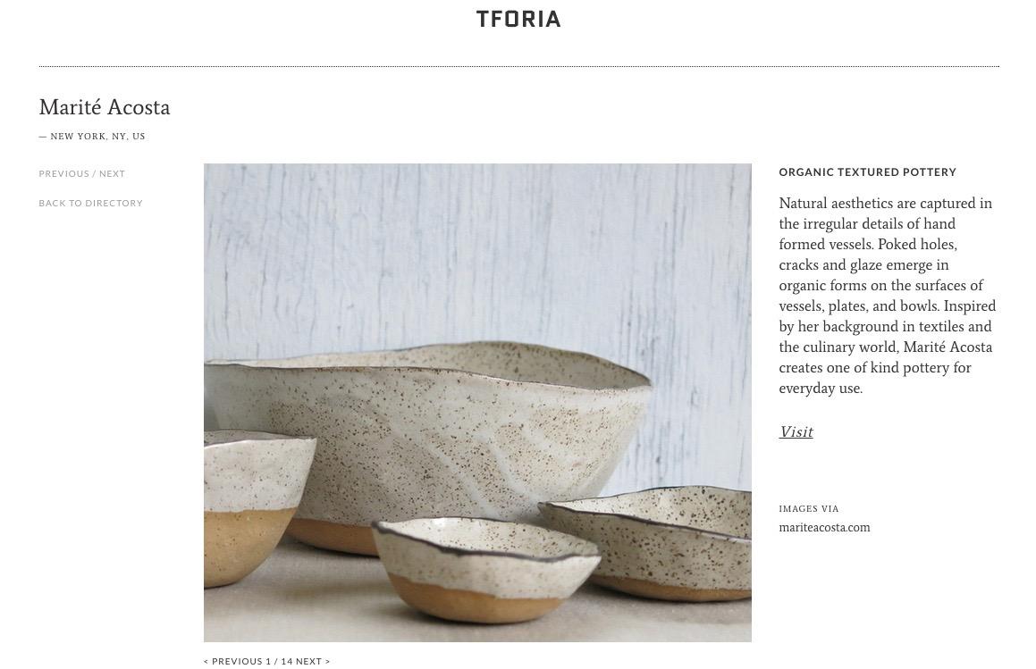 Tforia interview here
