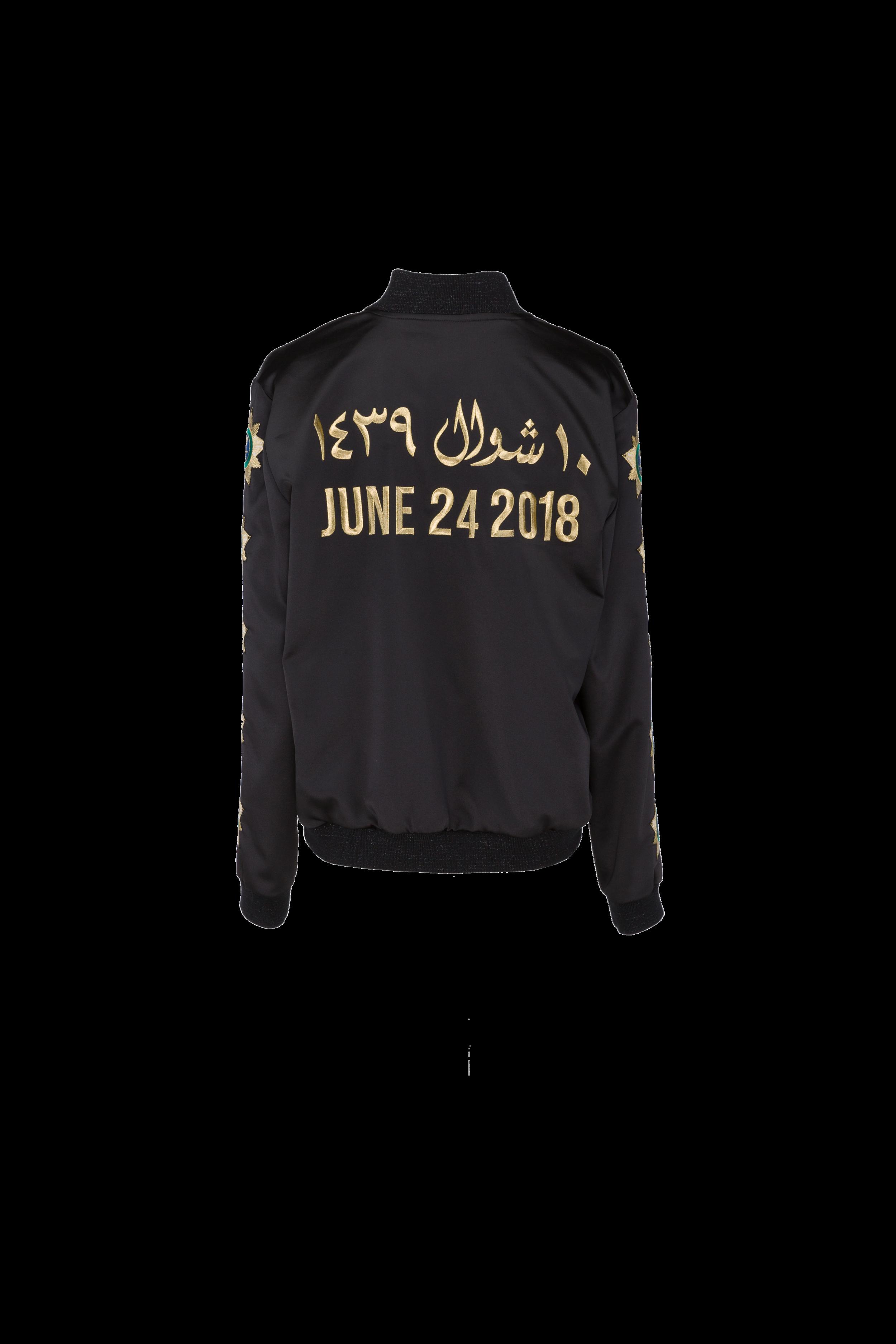 JUNE 24 DRIVING JACKET BLACK/GOLD