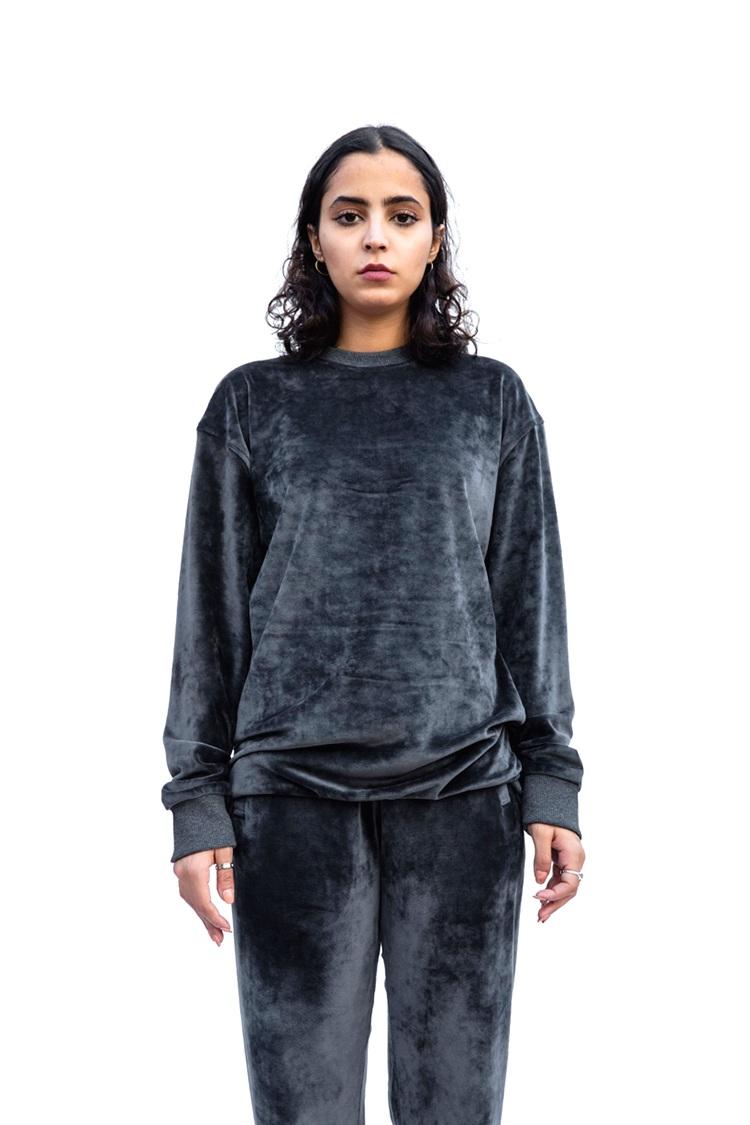 Dark Grey Velvet Sweatshirt4.png