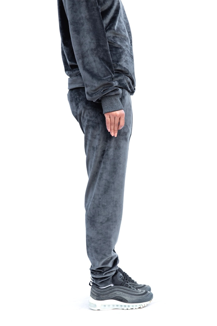 Dark Grey Velvet Track Pants5.png