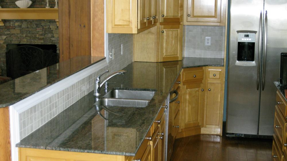 Tiled Kitchen Backsplash
