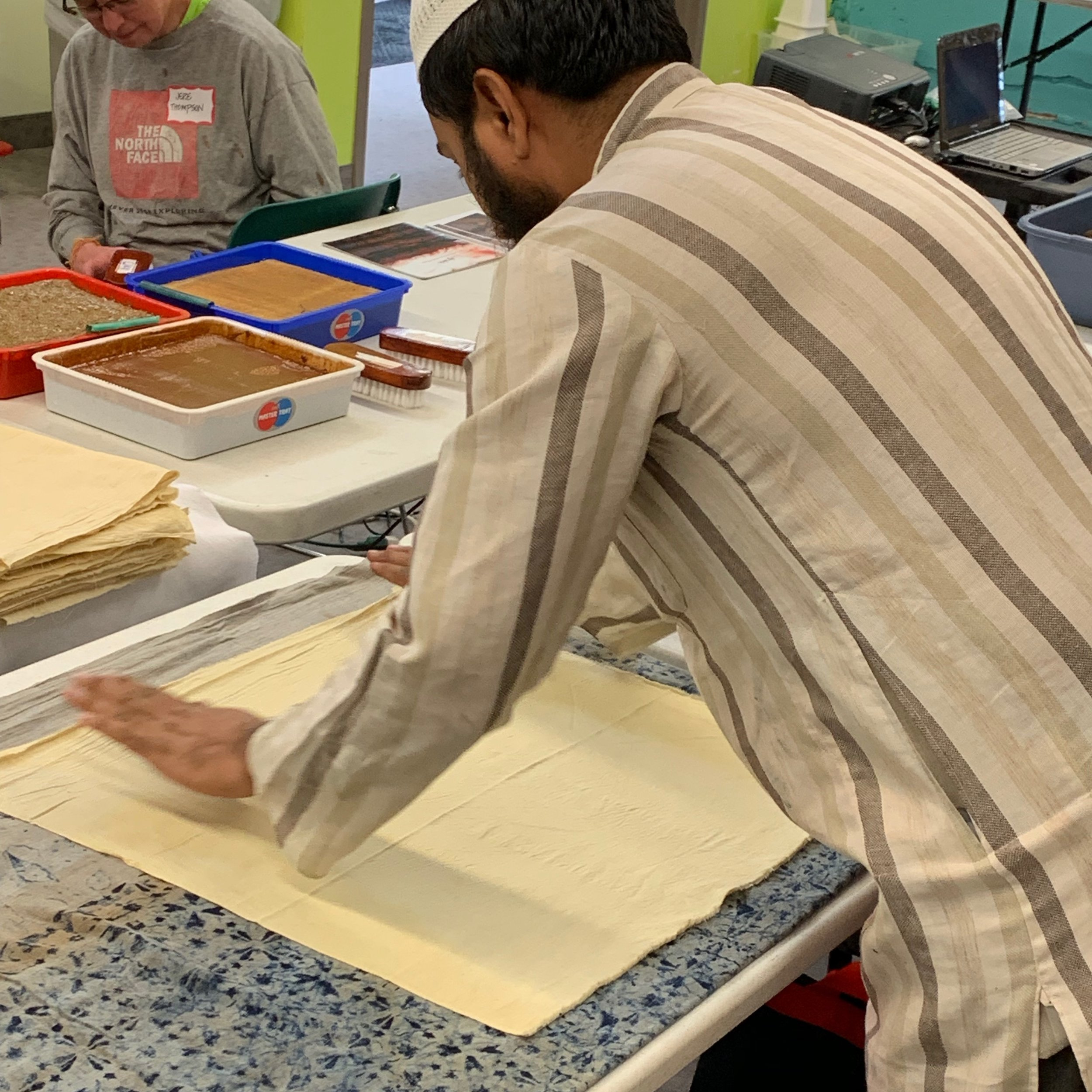 Sufiyan Khatri at Textile Center