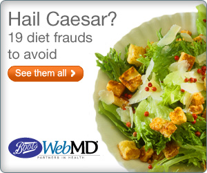 Diet Frauds  Client:  BootsWebMD