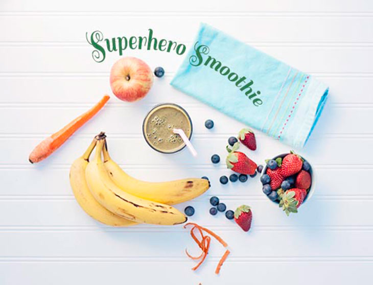 Bites & Sights Superhero Smoothie - feature
