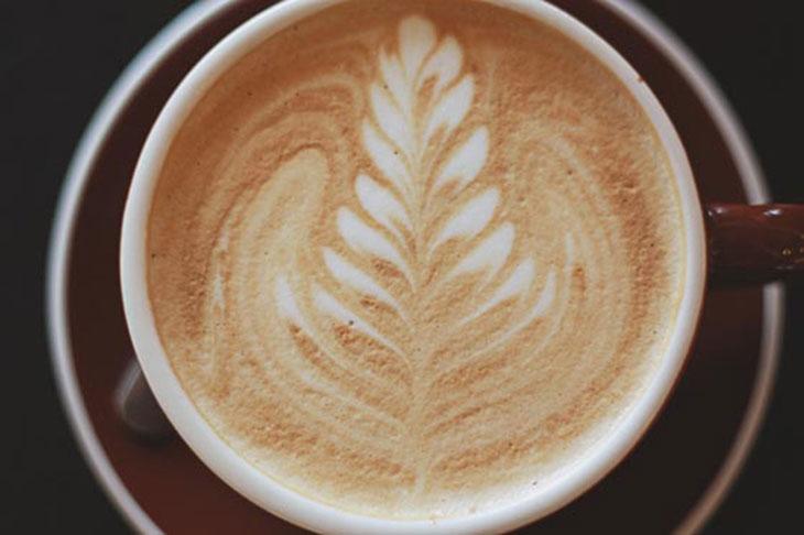 not just coffee vanilla sugar latte