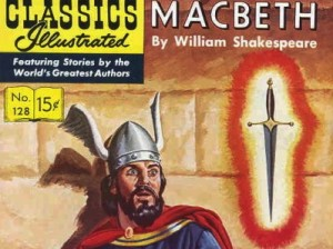 """Macbeth"" by William Shakespeare; Classics Illustrated No. 128 (1955)"