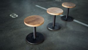 Round Stools (Photo via whitcombandcompany.com)