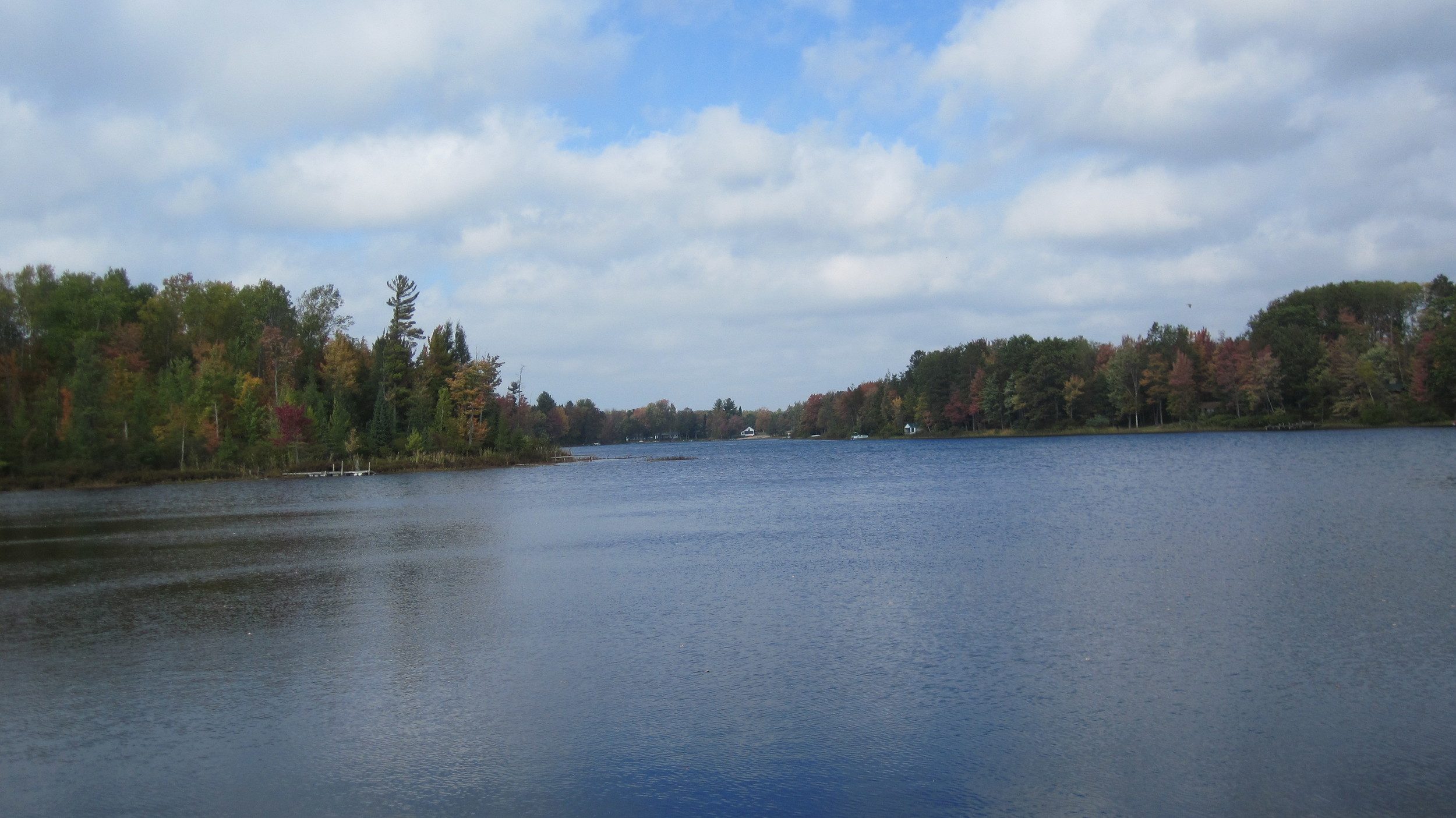 Early Fall--Little Long Lake (Photo by OHE)