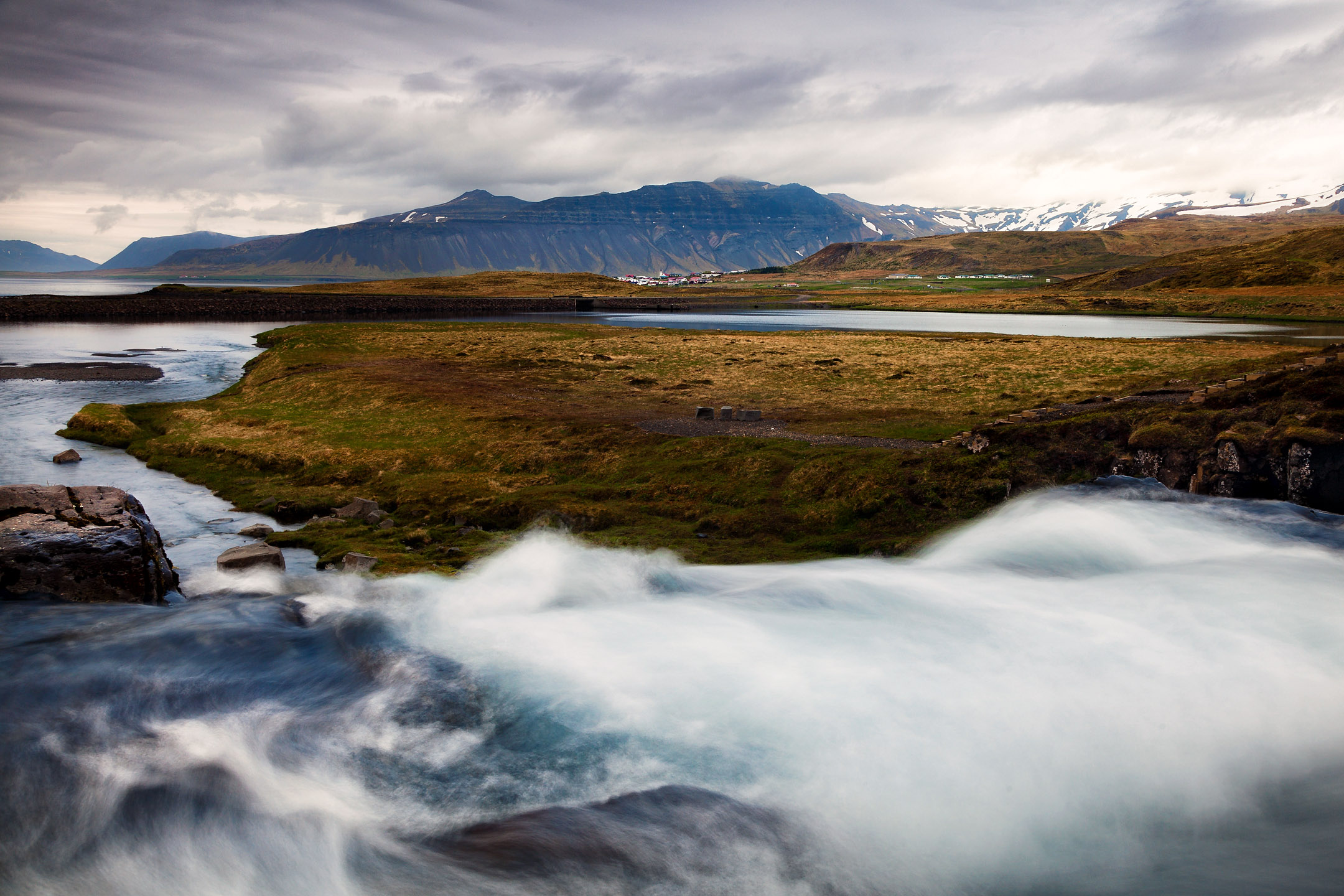 Ausblick auf die Westfjorde Islands