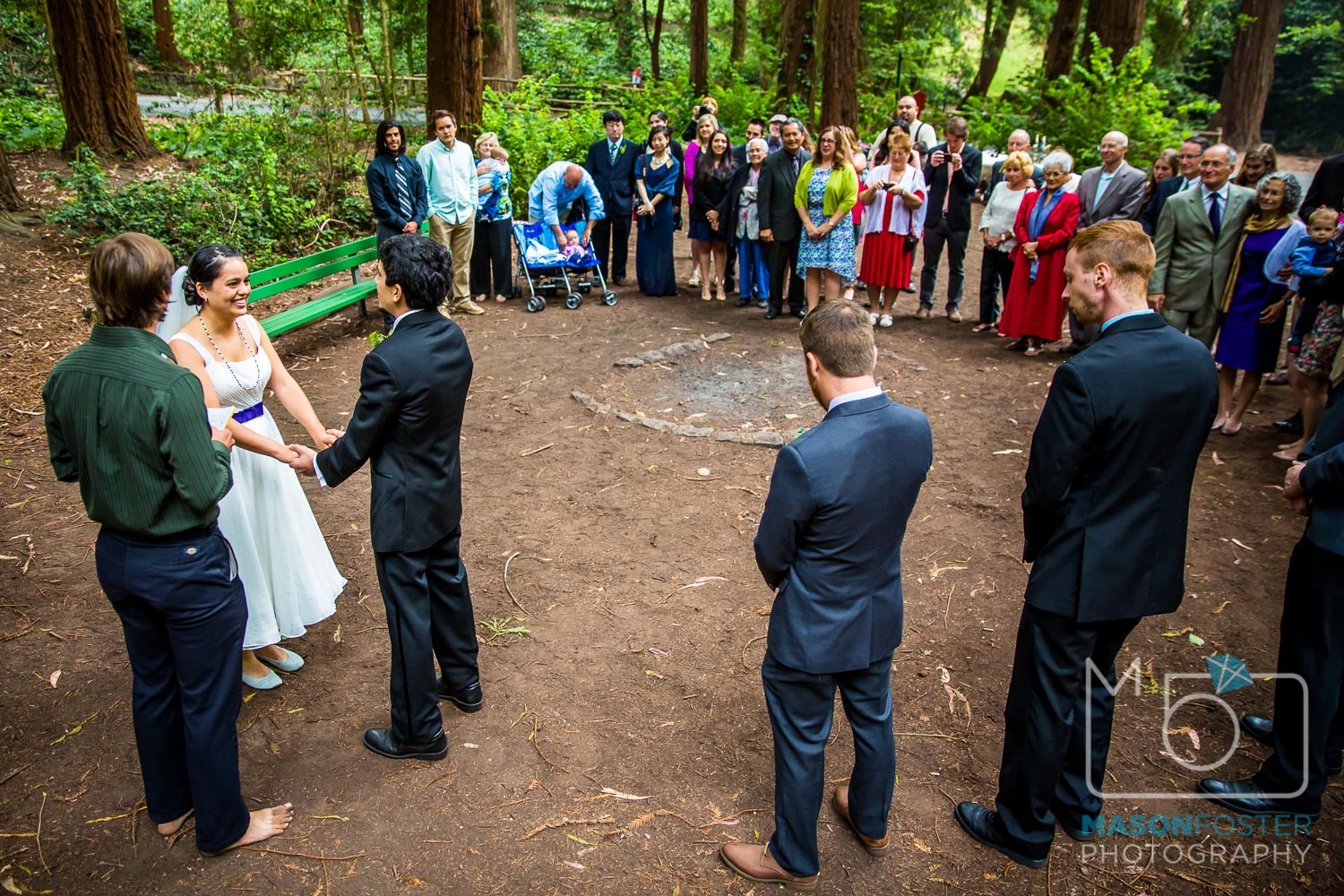 stern grove ceremony | san francisco wedding photography
